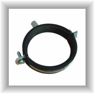 Acoustic Nut Hangers - Rubber Lined