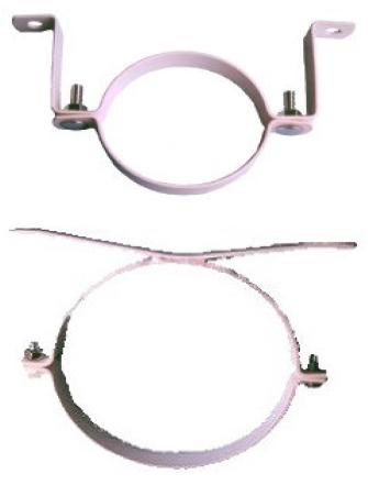 40mm (1 1/2) PVC S/STEEL STAND OFF BRKT