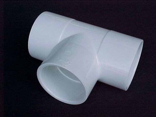 200mm 8 PVC TEE Slip