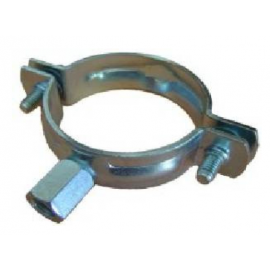 25mm BSP P/COATED NUT CLIP
