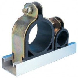 102mm EDPM RUBBER LINED CHANNEL CLIPS