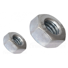 M6 304 S/STEEL HEX NUT