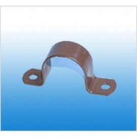 10mm (3/8) Cu P/Coated SADDLE
