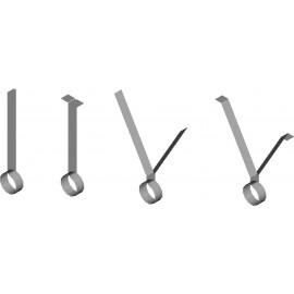 80mm (3) PVC STRAP HANGERS