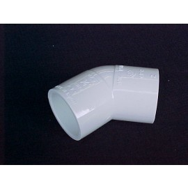 20mm 45 deg PVC Elbow [slip] CAT 10