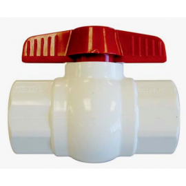 100mm PVC Ball Valve  [slip]
