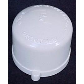 80mm (3) PVC Cap [slip]