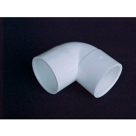 250mm 90 deg PVC Elbow [Slip]