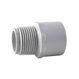 50mm PVC Male Adapter [mpt] CAT 17