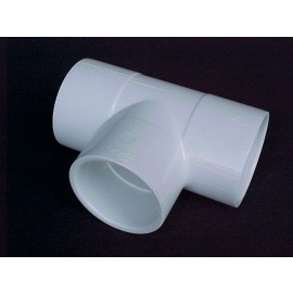 50x50x40mm PVC Reducing TEE [fpt] CAT 21