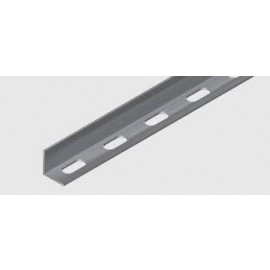 Slotted Angle - 25x25x3mm x 3m Zn